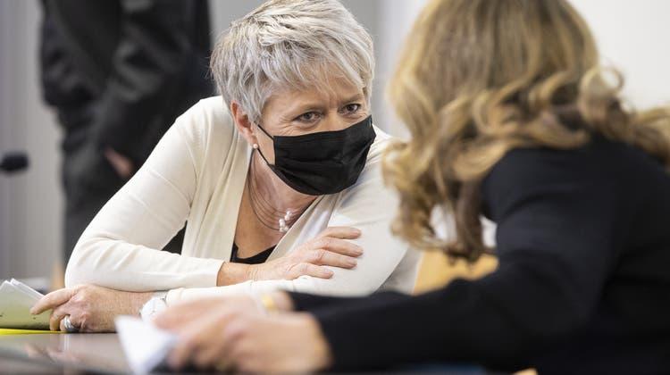 Regierungsrätin Jacqueline Fehr: «Gewalt kommt in allen sozialen Schichten vor.» (Ennio Leanza/Keystone)