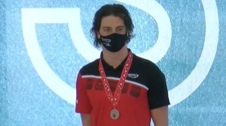 Robin Affentranger gewinnt Silber und Bronze an der Langbahn Schweizermeisterschaft