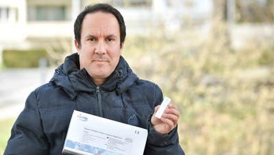 Matthias Gehring, Gemeindepräsident von Hauptwil, wollte einen Spucktest aus China bewilligen lassen — und ist mit seiner Anfrage beim Bundesamt für Gesundheit (BAG) abgeblitzt. (Bild: Donato Caspari (13. April 2021))