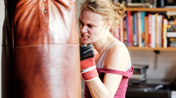 Manchmal muss bei einem Wutausbruch ein Boxsack herhalten. (Bild: PD)