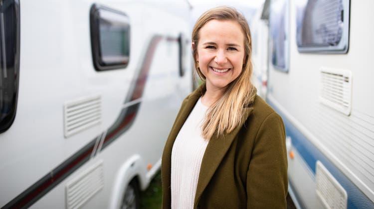 Sie hat es geschafft: Mirjam Affolter, 28,ist als Startup-Unternehmerin erfolgreich. (Tom Ulrich)