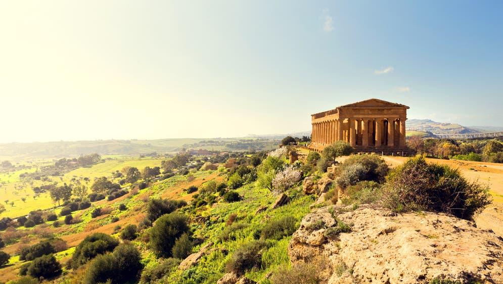 Concordia Tempel Agrigento (© shutterstock)