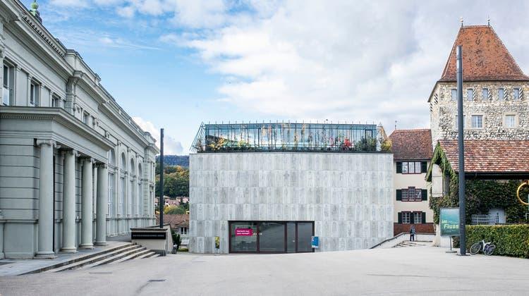 Das Stadtmuseum Aarau, wiedereröffnet im April 2015. (Britta Gut)