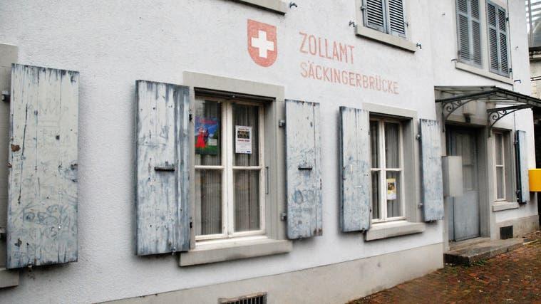 Das alte Zollhaus in Stein soll umgebaut werden. (Uwe Melzer (1. Dezember 2019))