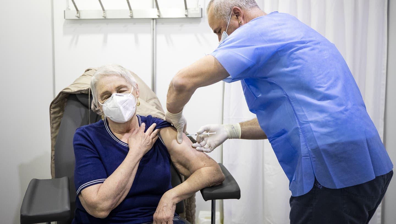 689'178 Personen sind in der Schweiz bereits vollständig geimpft. (Symbolbild) (Keystone)