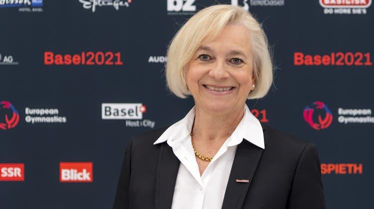 OK-Präsidentin Kathrin Amacker:«Mein Schreckensszenario war es, Pappfiguren aufstellen zu müssen.» (Georgios Kefalas / KEYSTONE)