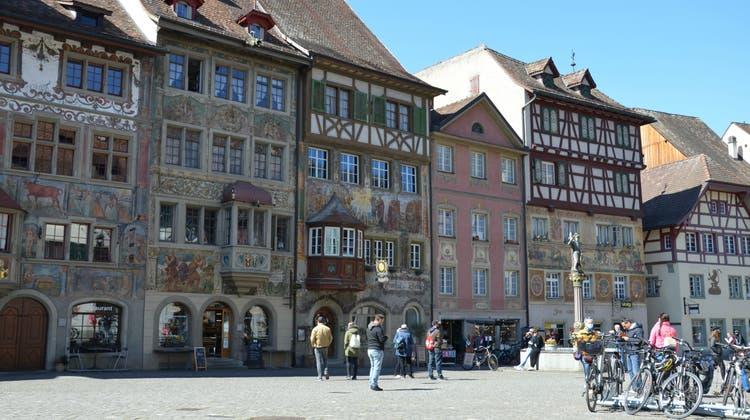 Die Altstadt von Stein am Rhein hat einiges an Sehenswürdigkeiten. (Bild: Rosa Schmitz)