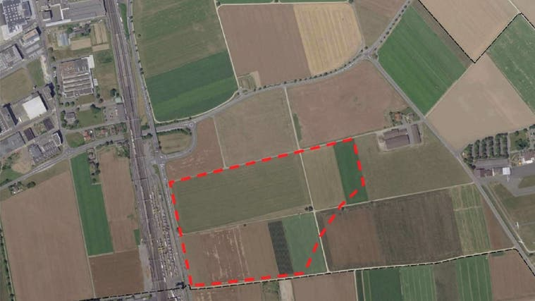 Von der Landwirtschaftszone zur Materialabbauzone: In Lupfig findet derzeit die öffentliche Auflage statt für die Teiländerung der Nutzungsplanung. (Bild: zvg)