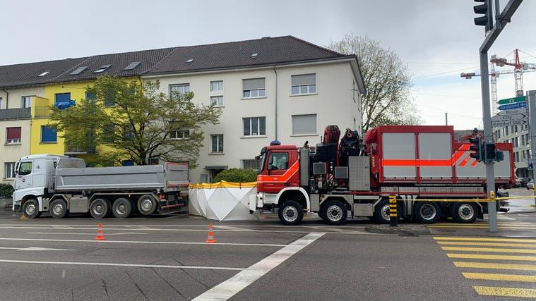 Die Unfallstelle an der Kreuzung Luzernerring/Burgfelderstrasse. (bz)