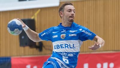 Mit sieben Treffern erfolgreichster Spieler: Adrian Blätter. (Bild: Pius Amrein)