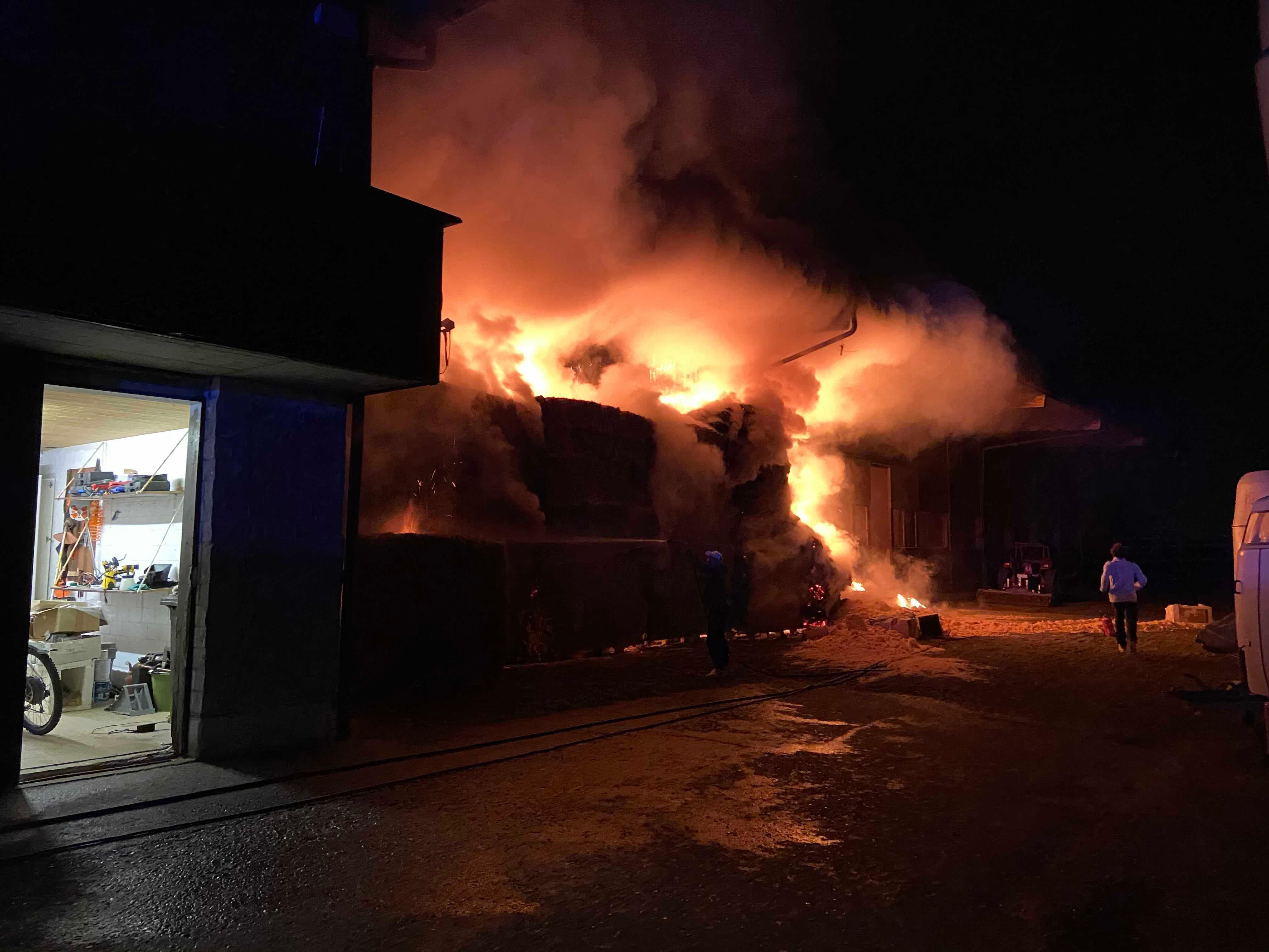 In der Nacht auf den 13. April hat es in einem Pferdestall in Würenlos gebrannt.