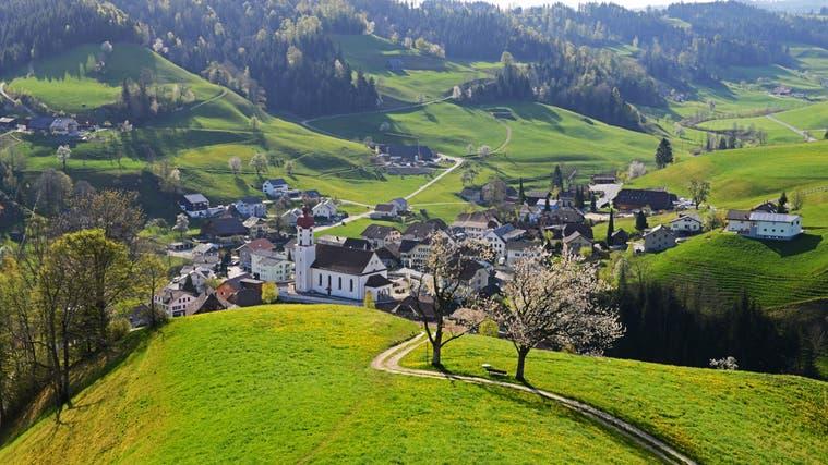 Blick auf die Gemeinde Luthern. (Bild: PD)
