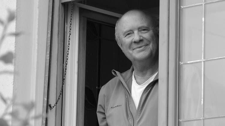 Peter Wiederkehrs Lächeln wird immer in Erinnerung bleiben. (Archiv, 2016) (Eddy Schambron)