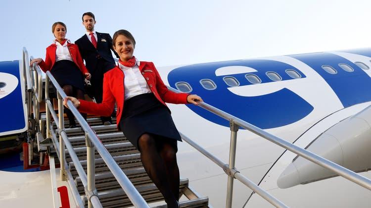 Die Flotte der Swiss-Schwester Edelweiss wird verkleinert: Zwei A330-Maschinen gehen zur neuen Lufthansa-Tochter Eurowings Discover. (Walter Bieri / KEYSTONE)