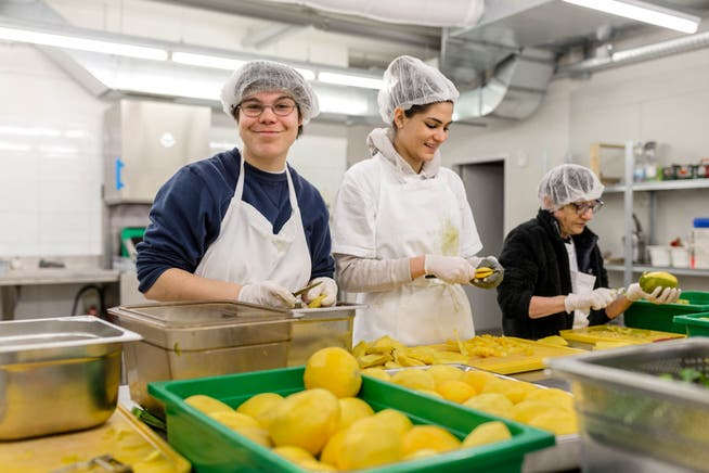 Die arwo Stiftung Wettingen kocht in Fislisbach Menüs für Mittagstische in der Region. (Archivbild)