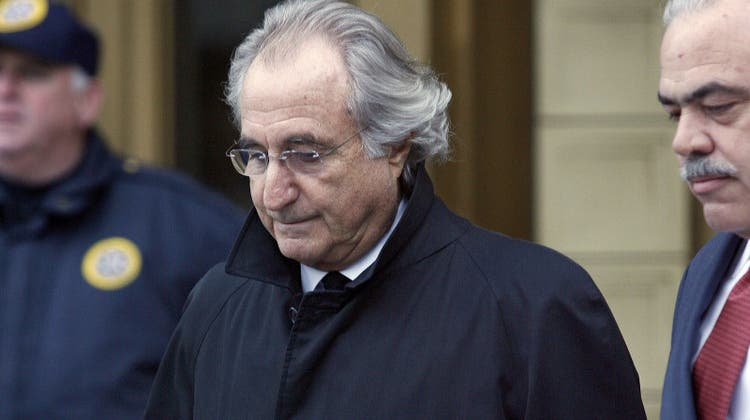 Bernie Madoff bekannte sich 2009 vor einem New Yorker Gericht schuldig. (Keystone)
