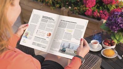 Neues Design: So sieht das Wittenbacher Mitteilungsblatt künftig aus. (Bild: PD)