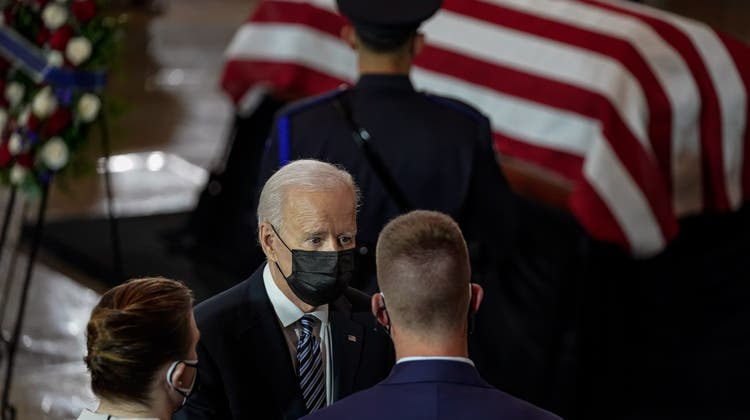 Joe Biden will die verbleibenden US-Soldaten bis am 11. September aus Afghanistan abziehen. (EPA)