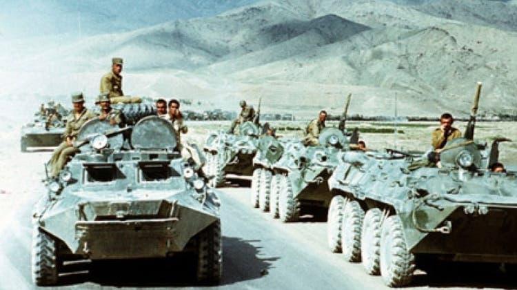 Die Rote Armee bei der Afghanistan-Intervention. (ho)