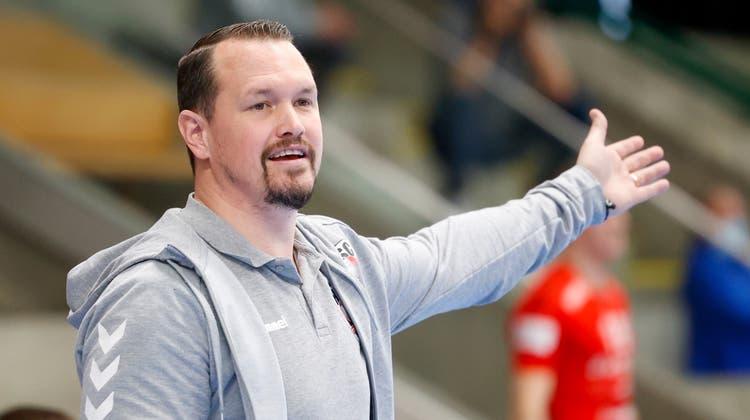 HSC-Trainer Misha Kaufmann erwartet eine heisse Partie gegen GC Amicitia. (Marc Schumacher / freshfocus)
