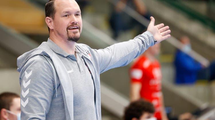 HSC-Trainer Misha Kaufmann. (Marc Schumacher / freshfocus)