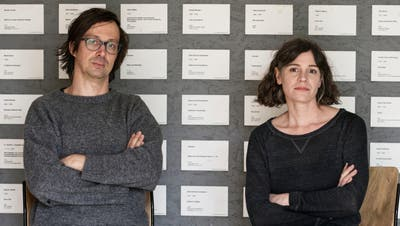 Maria Anwanders und Ruben Aubrechts Beitrag für unsere Kunstserie «hier und danach». (Bild: PD)