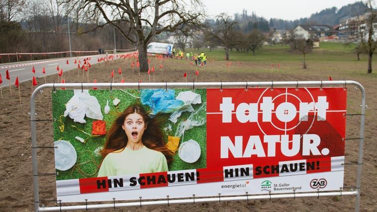 Der Anti-Littering-Workshop «Tatort Natur» ist ein aktuelles Projekt von Energietal Toggenburg. (Bild: Arthur Gamsa)