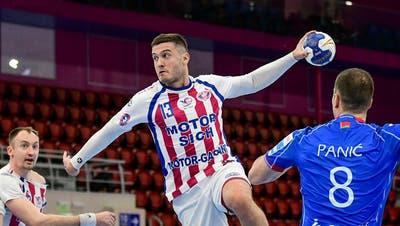 Er spielt momentan noch beim ukrainischen Champions-League-Teilnehmer Saporoschje: Milos Orbovic. (PD)