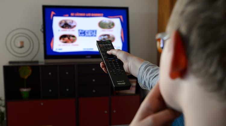 Trotz Streamingdiensten: Das klassische Fernsehen hat noch nicht ausgedient. (Symbolbild) (Keystone)