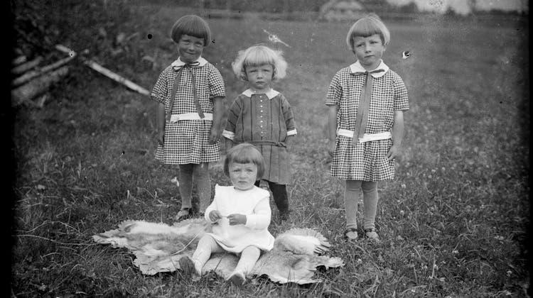 Kinder fotografiert von Josef Aregger. (Bild: Entlebucherhaus)