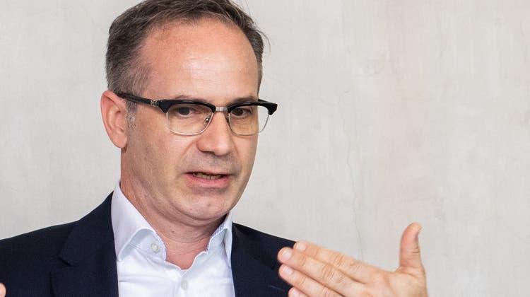 Patrick Gosteli, neuerPräsident der Gemeindeammänner-Vereinigung. (Britta Gut)