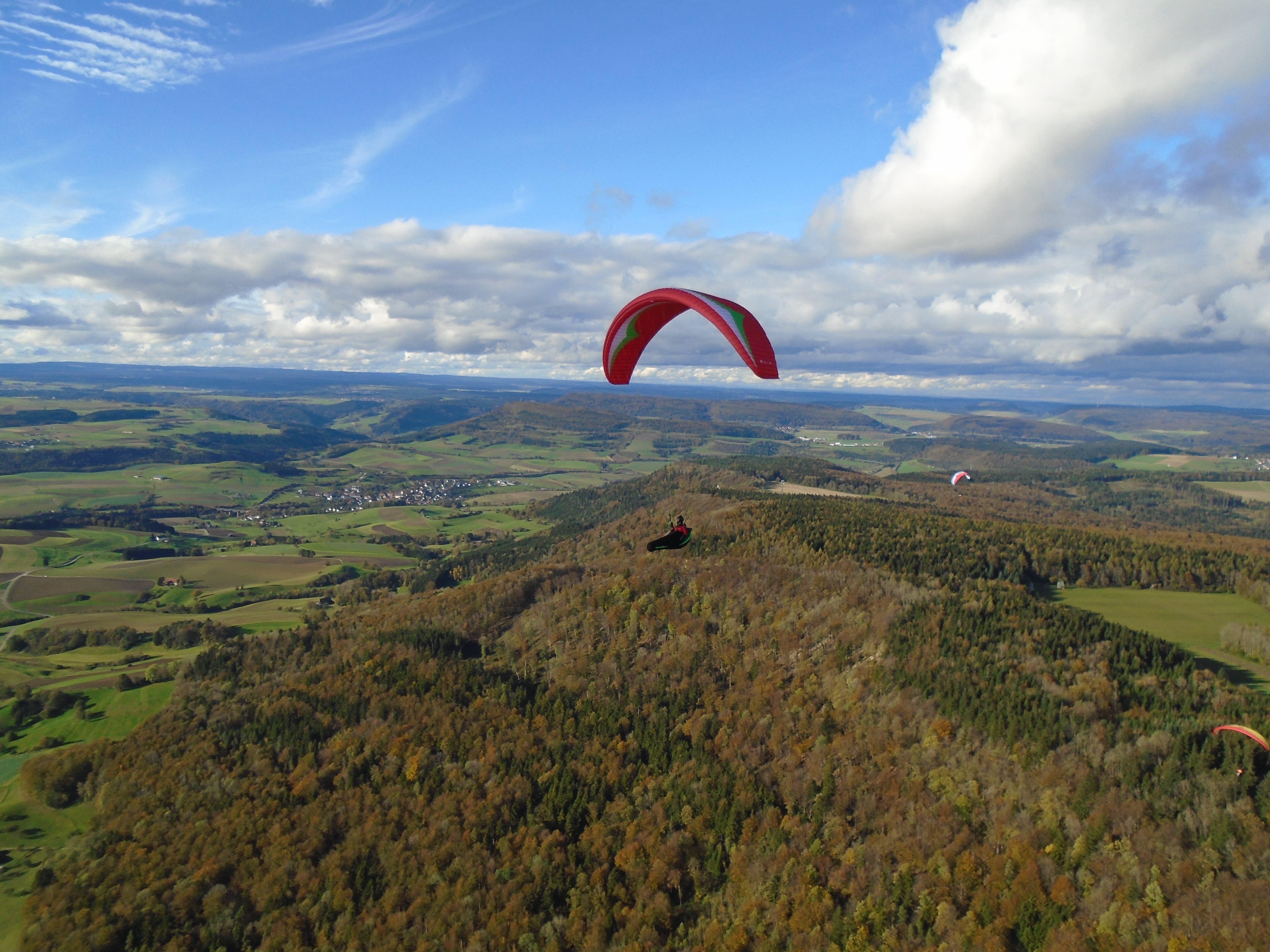So sieht der Kanton Schaffhausen von oben aus (aufgenommen 2014).