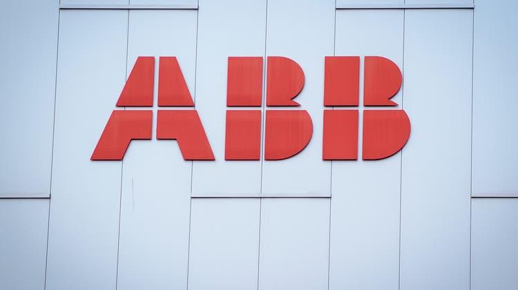 Die Geschäfte bei ABB laufen besser als der Konzern es erwartet hatte. (Keystone)