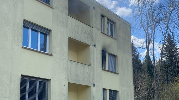 Die Wohnung kann nicht mehr bewohnt werden. (Kapo Aargau)