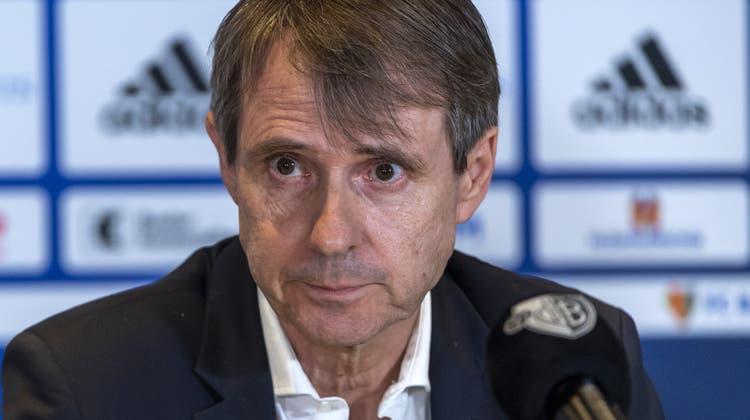 FCB-Präsident Bernhard Burgener unterliegt beim Presserat gegen die bz. (Bild: KEYSTONE)