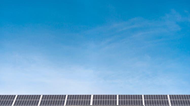 Der Solarenergieanteil wird bei der a.enstetig erhöht. (Benjamin Manser (Archiv))