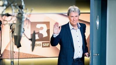 Ein Abschied «auf dem Höhepunkt», sagt Bernhard Schär. Ende April geht er nach 33 Jahren beim Schweizer Radio SRF in Pension. (SRF/Oscar Alessio)