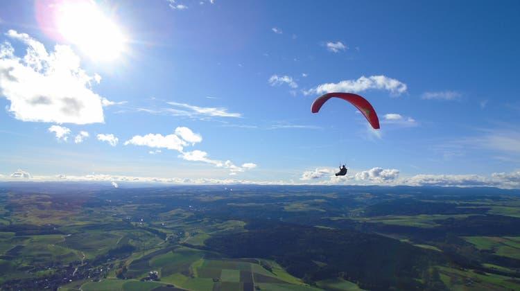 So sieht der Kanton Schaffhausen von oben aus (aufgenommen 2014). (zvg)