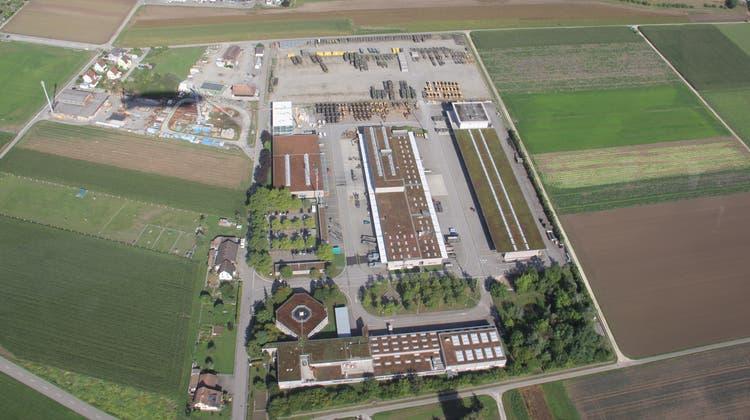 Die Armee hat im Aufeldin Brugg einen Logistikstandort. (Bild: Claudia Meier (25. August 2015))