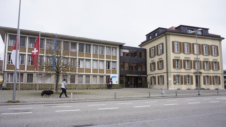 Gemeindehaus Zuchwil. Hier tagt jeweils der Gemeinderat. (Urs Byland)