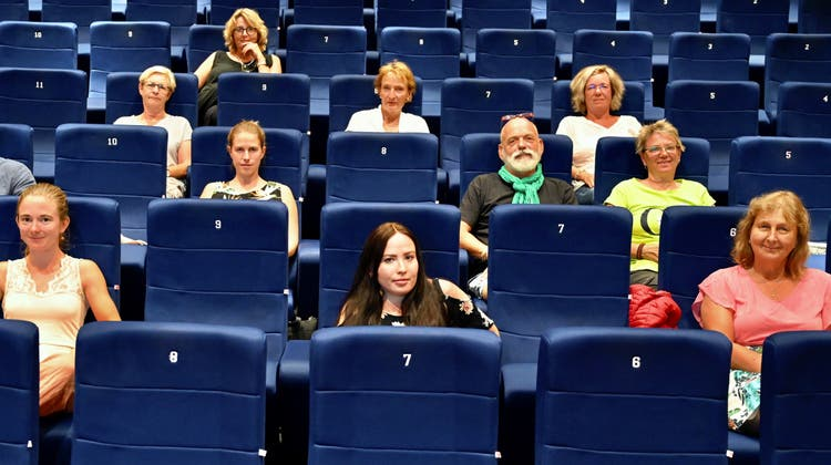 Coronasitzordnung im Kino Mansarde in Muri: Mit Abstand und neu auch mit Maske, aber ohne Pause ist Filmgenuss bald wieder möglich. (zvg (22. August 2020))