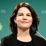 Traut sich das hohe Amt zu: Annalena Baerbock, 40, Co-Chefin der Grünen. (Clemens Bilan/EPA)