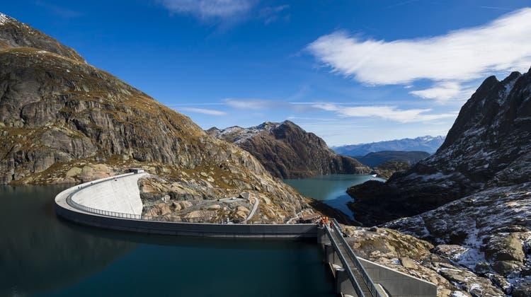 Wasserkraftwerke steuern über 58 Prozent zur Schweizer Elektrizitätsproduktion bei. (Keystone)