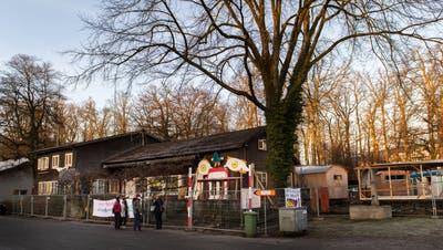 Die Liegenschaft am Murmattweg beim Eichwäldli. (Bild: Eveline Beerkircher(Luzern, 18. Februar 2021))