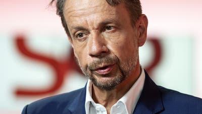 Gilles Marchandführte das Westschweizer Fernsehen während 16 Jahren. (Peter Schneider / KEYSTONE)