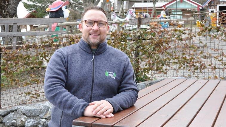 Ab Dienstagwill Geschäftsführer Patrick Eugster wieder Gäste auf der Waldegg empfangen. (Bild: Karin Erni)