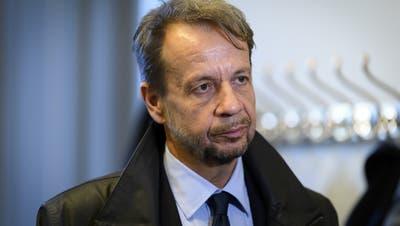 SRG-Direktor Gilles Marchand geriet wegen derBelästigungsaffäre zunehmend unter Druck. (Keystone)