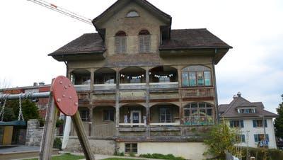 Das Keyserhaus wird heute vom Verein Chinderhuis Nidwalden genutzt. (Bild: Martin Uebelhart (Stans, 15. April 2021))