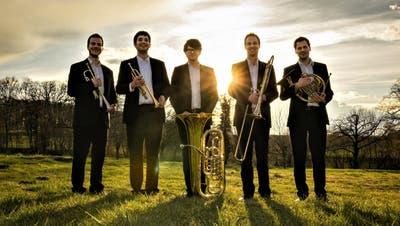 Das Brass Quintett «Ensemble Vitrail» eröffnet am Freitag die Konzertsaison im Kloster Fischingen. ((Bild: zvg))