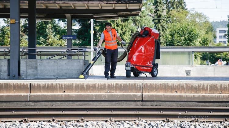 Wer reinigt künftig die Bahnhöfe der SBB? (Claudio Thoma)